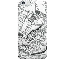 Seaweed shipwrecked iPhone Case/Skin