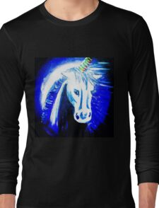 unicorn moon Long Sleeve T-Shirt