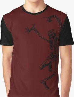 Dancing Skeleton Graphic T-Shirt