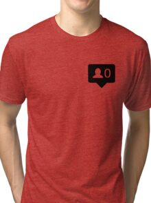 black followers Tri-blend T-Shirt