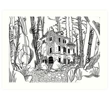 Forgotten Manor Art Print