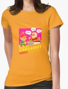 Chatty Checkout (NES My Life) Womens Fitted T-Shirt