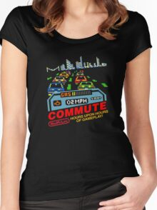 Commute (NES My Life) Women's Fitted Scoop T-Shirt