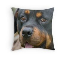 Devoted! - Rottweiler - Dog - NZ Throw Pillow
