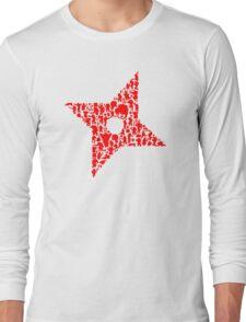 Ryu's Windmill Shuriken Long Sleeve T-Shirt