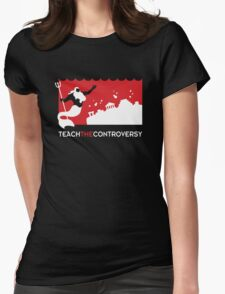 Sinking Atlantis (Teach the Controversy) Womens Fitted T-Shirt