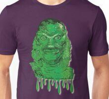 Creature from the Black Lagoon Drip Art Unisex T-Shirt