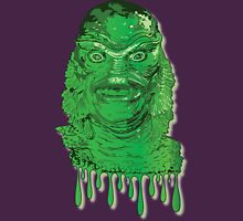 Creature from the Black Lagoon Drip Art Unisex T-Shirt