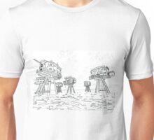 Abandoned Military Fort Unisex T-Shirt