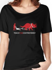 Dinosaur Human Coexistence Women's Relaxed Fit T-Shirt