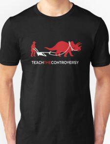 Dinosaur Human Coexistence Unisex T-Shirt