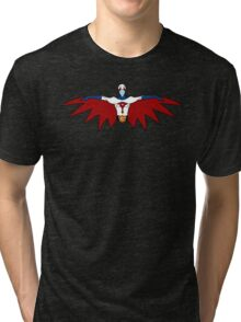 """Ken, the Eagle """"Gatchman"""" Tri-blend T-Shirt"""