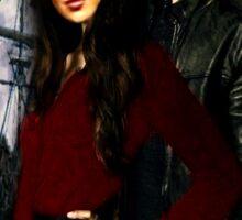 Queen Regina and Killian Jones  Sticker