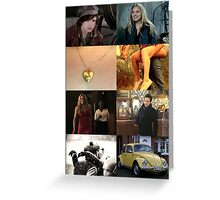 Young Swanfire Greeting Card