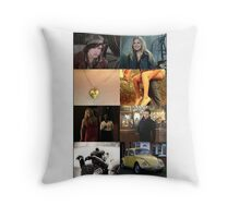 Young Swanfire Throw Pillow