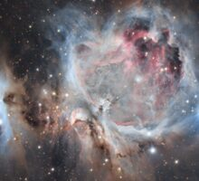 The Great Nebula in Orion Sticker