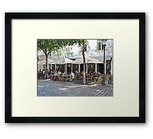 Slang Pub, Bratislava, Slovakia Framed Print