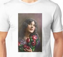 Colorized Vintage Young Beauty II Unisex T-Shirt