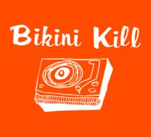 Bikini Kill (on black) Kids Tee