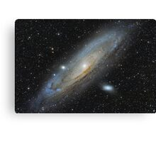 The Andromeda Galaxy Canvas Print