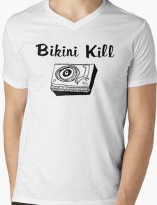 Bikini Kill (on white) Mens V-Neck T-Shirt