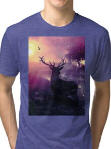 Morning Mist Tri-blend T-Shirt