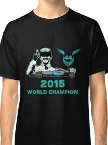 Lewis Hamilton, 2015 Formula 1 F1 drivers World Champion Classic T-Shirt