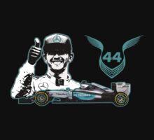 Lewis Hamilton, 2015 Formula 1 F1 drivers World Champion (B) Kids Tee