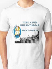 Extraordinary Jubilee of Mercy with logo, 2015 - 2016 (B) T-Shirt