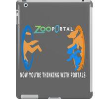 Zootopia with portals iPad Case/Skin