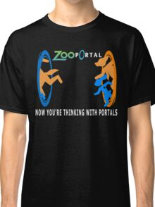 Zootopia with portals Classic T-Shirt