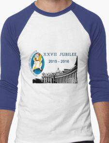 27th Jubilee, 2015 - 2016 Men's Baseball ¾ T-Shirt