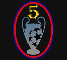 Barcelona Fc 5th Champions League Unisex T-Shirt