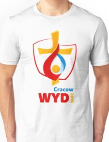 World Youth Day 2016 in Cracow logo Unisex T-Shirt