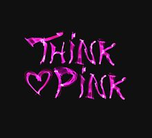 Think pink, fashion and style Women's Fitted Scoop T-Shirt