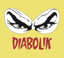 Diabolik eyes comic hero, with name One Piece - Short Sleeve