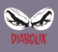 Diabolik eyes comic hero, with name Kids Tee