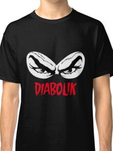 Diabolik eyes comic hero, with name Classic T-Shirt