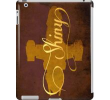 Shiny Serenity Firefly Art iPad Case/Skin