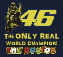 VR46, Valentino Rossi the Legend, MotoGp World Champion Kids Tee