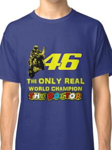 VR46, Valentino Rossi the Legend, MotoGp World Champion Classic T-Shirt