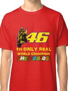 VR46, Valentino Rossi the Legend, MotoGp World Champion Classic T-Shirt