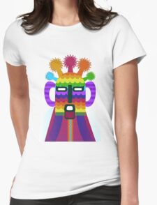 Aya huma Womens Fitted T-Shirt