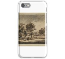 Richard Cooper Junior A Stormy Day in a Park, iPhone Case/Skin