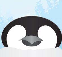 Simplistic Penguin Sticker