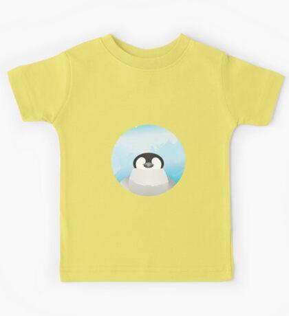 Simplistic Penguin Kids Tee