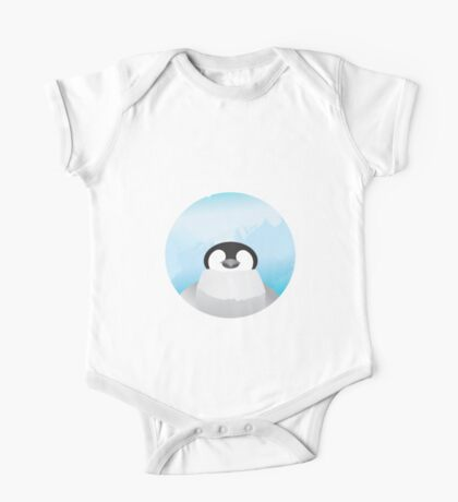 Simplistic Penguin One Piece - Short Sleeve