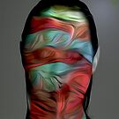 """Mask series""""Wrapped in art"""" by Martin Dingli"""