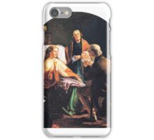 Robert Dowling - The Grandfather's Visit iPhone Case/Skin
