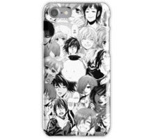 Mixed Manga Character Phone Case iPhone Case/Skin